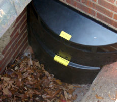 Trash Guard Plus Catch Basin Screen / Filter Device in Action