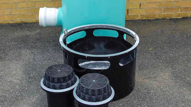 filters for rooftop down spout filter