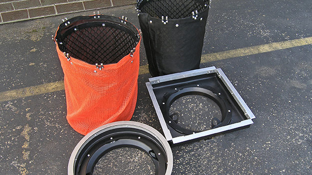 stormsack round units with square or round frames